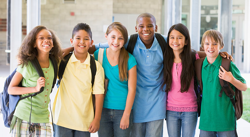 Picture of diverse youth from Guiding Good Choices